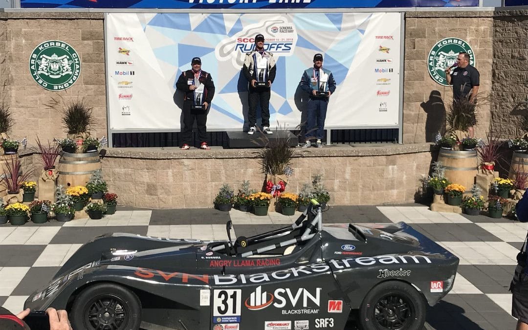 Clay Russell, Associate Advisor Wins his First National Championship